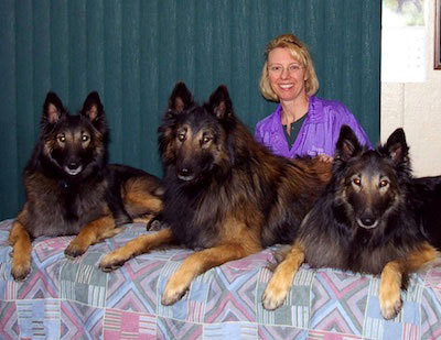 Joanne Lang creator or the Lang System of canine massage