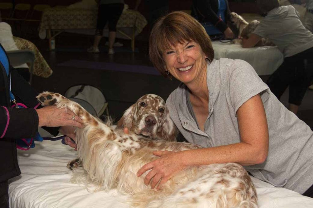 Lang Institute for Canine Massage practicum